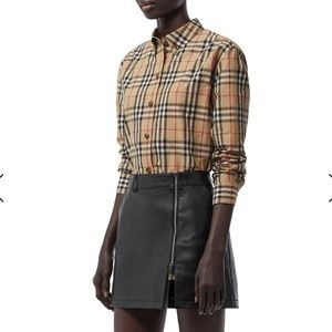 Burberry Button down top